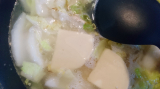 【うちごはん】ツナと白菜のチーズクリームシチューの画像(3枚目)