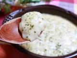 「明治 4種チーズの濃厚リゾット」の画像(7枚目)