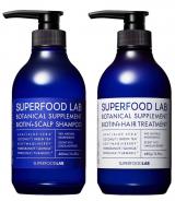 「SUPERFOOD LAB BIOTIN + SCALP SHAMPOO & TREATMENT スカルプセット を 使ってみた」の画像(1枚目)
