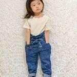 2019.3.30(sat)  3y6m14d前回のもふもふ冬コーデから一気に夏コーデ🌻.@tokyo_by_artpeanuts さんのトップスを着用してます🎶.首元…のInstagram画像