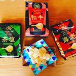 #コイケヤプライドポテト本格食材 #monipla #koikeya_fan ..大好きなポテチ♡一袋あっという間になくなっちゃいます。新商品3種類♪食べ比べにルンルンです‼︎まず…のInstagram画像