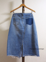 【ANDJ アンドジェイ】のデニムスカートがプチプラなのに素敵すぎる!!の画像(4枚目)