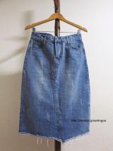 【ANDJ アンドジェイ】のデニムスカートがプチプラなのに素敵すぎる!!の画像(2枚目)
