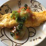 #まるさん #あんかけ #中華料理 #おうちごはん #ふりだし屋 #monipla #marusanshokuhin_fanオムレツに青梗菜コーン人参のあんかけを掛けて!うわぁ!いつものアンよ…のInstagram画像