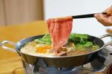 最高級の神戸牛ですき焼きを堪能の画像(3枚目)