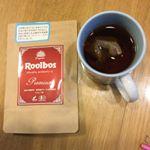 最高級品質のオーガニックルイボスティー❤️オーガニック認証を取得した最高級グレードの茶葉を100%使用しているそうです😊しっかり色も出たし、とても美味しく頂けました❤️ #タイガールイボス…のInstagram画像