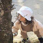 ゆちゃりちゃ桜に夢中でクンクン匂ってた☺️🌸ゆっちゃんは @popochan_official に匂わせてたよ笑笑.我が子たち外遊びが大好きで毎日公園行くからもはや日焼けし…のInstagram画像