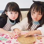 リンレイの自宅のオーブンでかんたん・手軽にオリジナル陶器が作れるオーブン陶土セット『Basic』を使って @yumekeina.0824 とお皿作りを一緒にしてみました♡.お友…のInstagram画像