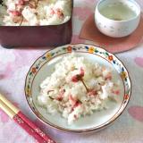 海の精さんの「桜の花塩漬け」で春色「桜ご飯」!の画像(6枚目)