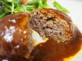 ♪神戸牛専門店の神戸牛ハンバーグの画像(6枚目)
