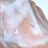 メイク落としと毛穴ケア洗顔が一つに☆ペリカン石鹸 らくらくメイクオフソープ その2の画像(3枚目)