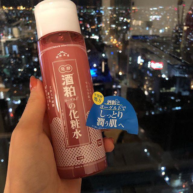 口コミ投稿:酒粕とヨーグルトの化粧水はとろっとしてて、乳白色、香りもいい!#コスメ好きさんと…