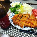 #鎌田醤油 #かつおだしの中濃ソース #かつおだし #monipla #kamada_fan新発売のかつおだし中濃ソースをトンカツや、ハンバーグにかけて食べてみました。洋食屋さんのソースの…のInstagram画像