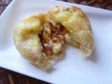 八天堂さんの甘くないパンもおいしいです♪『くりーむグラパン』の画像(6枚目)