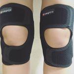 #筋トレ (主に#スクワット )や#ウォーキング#ランニング の際に膝に負担がかかっている感じが気になっていました。#マジコ の【ひざサポーター】は、サポート力がしっかりですが、動いても痛くな…のInstagram画像
