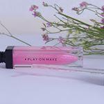❇️ニュアンスチェンジ❇️できるPLAY ON MAKE リップグロスを使ってみた👩💋 ং..【 #コスメレポ / #instacosmetics 】..春っぽいピンクが可愛い…のInstagram画像