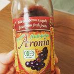 #aroniada #monipla #nakagaki_fanアロニアを飲みはじめてはまりました😃ブドウジュースのような味ででもかすかな苦味が癖になります。ポリフェノールの量がすごくて飲…のInstagram画像
