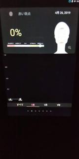 魔法の鏡☆☆スマートミラー HiMirror Mini 肌分析の画像(10枚目)
