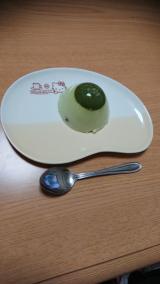 濃いグリーンティーで作った抹茶プリンの画像(2枚目)