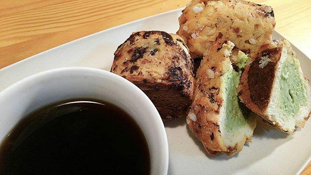口コミ投稿:5/2(木).新食感スイーツ!シンガポールマフィンを食べてみた♪.カスタード 抹茶 チョ…