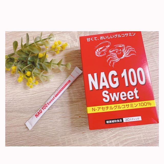 口コミ投稿:NAG100Sweetでグルコサミンを摂っています🥰普通のグルコサミンよりも甘みがあって美…
