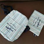 プチプラショルダーとポーチを持って、九州旅行に行ってきました♥プチプラだけど、ちゃんとお財布も携帯も入る✨ポーチは薬や子どもたちのご飯のお供!のりが入っていますポーチの裏にはポケットティッ…のInstagram画像