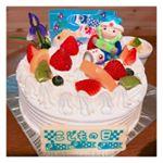 ..@artcandy_official さんのこどもの日ケーキオーナメント!!.息子も娘も喜んでました(人´_`)..#アートキャンディ #製菓材料 #こどもの日 #こど…のInstagram画像