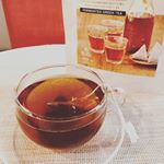 最近毎日飲んでいる #ヤマサン 様のダイエット緑茶。.ティーバッグタイプなので気軽に飲めます🍵.味はまったく癖がなくて、香りも香ばしくとても美味しいです。.さらに腸内で脂の吸収…のInstagram画像