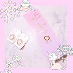⋆*河北麻友子ちゃんがイメキャラのデコラティブアイズのカラコン🐼❣️⋆ハグミーキスという可愛い名前のカラーを試してみました!⋆商品名:DECORATIVE EYES U…のInstagram画像