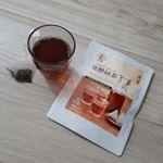 今回お試しさせてもらった発酵緑茶(^^)飲みやすくて、癖がない!国産オーガニックで安心だし、おすすめです(^^) #国産オーガニック発酵緑茶 #腸活 #おうちカフェ #緑茶 #発酵食品 #mo…のInstagram画像