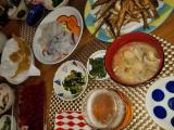 目指せ低糖質 本日のお夕食 5月9日 くじらのお刺身と殿様のツンデレ具合の画像(1枚目)