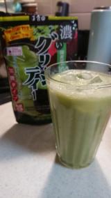 新茶の季節に抹茶味がおいしい『濃いグリーンティー』[E:#x266A]の画像(3枚目)