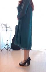 Naight1(ナイトワン)七分袖シフォンプチプラドレスワンピースBIKAの口コミレビューの画像(5枚目)