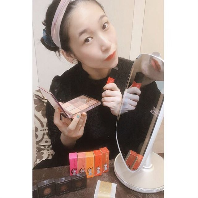 口コミ投稿:Korean cosmetics CELEFIT using HiMirrorMini(^-^)vThe snack is umeboshi GODAIAN…