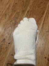 シルクを綿で守る5本指靴下の画像(4枚目)