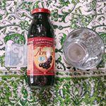 ✾有機アロニア100%果汁✾アロニアとはメディカルフルーツと世界では呼ばれていて細胞活性化する効果がある果物だそうです✨ポリフェノールがブルーベリーよりも5倍も多く入っています!…のInstagram画像