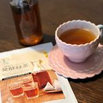 発酵緑茶お試しさせていただきました😊カップにティーパックを入れ、お湯を注いで2〜3分で色が出始めました✨発酵緑茶と聞いて、クセがあるのかな❓と思いましたが、子供も飲めました🧒スッキリした味…のInstagram画像