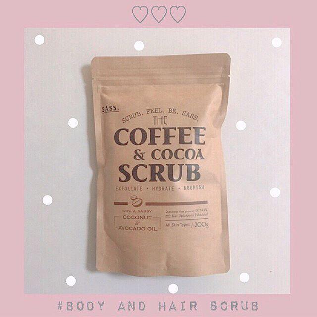 口コミ投稿:...𓂃 スクラブ ♡..コーヒーとココアのスクラブで見た目も 本物のコーヒーみたいな可…