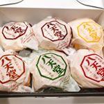 八天堂(@hattendo_official )プレミアムフローズンくりーむパン☆.カスタード×2、生クリーム、抹茶、チョコレート、小倉の6個セット✨.冷凍パンで冷蔵庫で24時間か…のInstagram画像