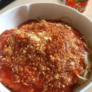 「トマトケチャップのソース」パスタ好きさん集まれ~!オリジナルパスタレシピを募集。【1名さま】の投稿画像