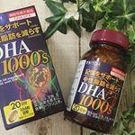 .#DHA#井藤漢方製薬 ...毎日欠かさず飲んでるのはこのDHAサプリ✨.なんと一日分のサプリに1000mgのDHAが含まれとるスゴイ😳😳😳❤️..こちらのサプリ…のInstagram画像