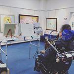 絵画展【口と足で描いた絵】5/12~18 @東京交通会館 同時開催 南正文作品展に行ってきました!口と足だけで書いたとは思えないくらいどの作品も素晴らしく、どれもジーンと心に響くものがありまし…のInstagram画像