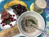 スープで朝ごはんの画像(1枚目)