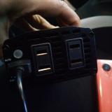 「車の中でも充電もできるしPCも使える!これ便利~♬」の画像(4枚目)