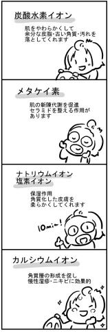 日本でも珍しい天然炭酸水を使用した「奥会津金山 炭酸水マスク」の画像(4枚目)