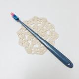 2トーンのハイカラフル歯ブラシ♪と、クロス決定!の画像(1枚目)
