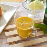 📌冷たいパンプキンスープのど越しの良い冷製スープは、とろみがひんやり感を長く留めるので、暑い日にはオススメ。作るとなれば手間のかかるスープですが、SSKのアルミパウチ包装のこのスープは…のInstagram画像