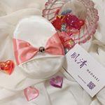 ・・@hadasei_silk  さんの肌清 HADASEI シルクパフを使ってみました💓 ・見た目が可愛い😍💕リボン🎀可愛いものが大好きだからたまらないデザインです🌈 ・こち…のInstagram画像
