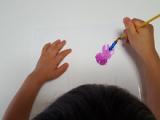 クレヨラ  水でおとせるキッズ絵の具 18色 ミニセットの画像(5枚目)