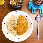 _______Curry & rice for lunch☺️🍛_______ランチにカレー☺️🍛こちら、ごと株式会社さん( @nagasakigoto510 )の「五島の鯛で出汁をと…のInstagram画像